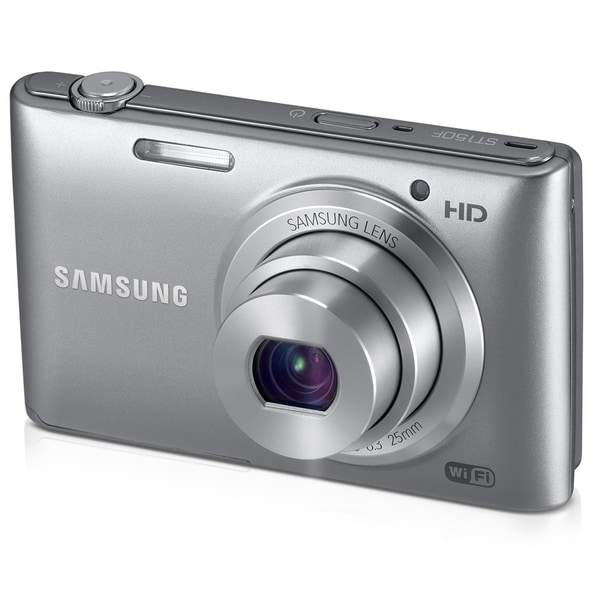 Samsung ST150F 16.2 Megapixel Compact Camera - Silver