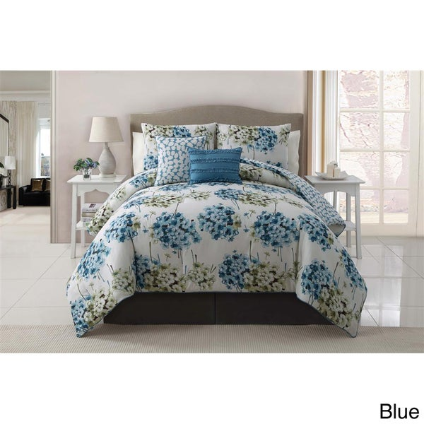 VCNY Carolina 5-piece Reversible Comforter Set