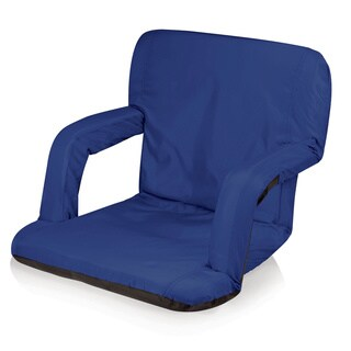 Picnic Time Ventura Blue Backpack Portable Recliner