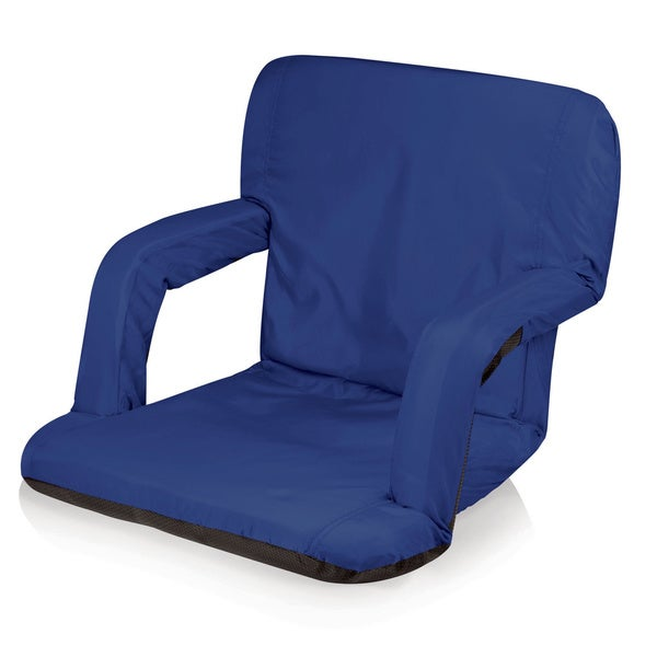 Picnic Time Ventura Blue Backpack Portable Recliner