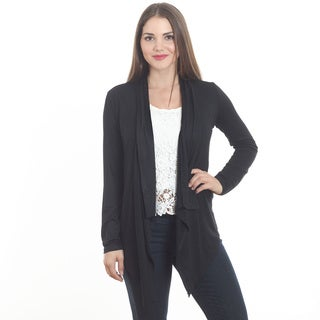 Women's Solid Open Front Cardigan (More options available)