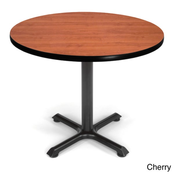 OFM XT 36-inch Black Base Round Table