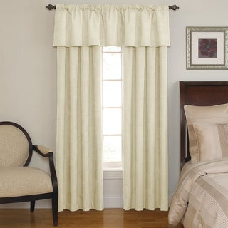 Sound Asleep Room-Darkening Ivory Curtain Collection