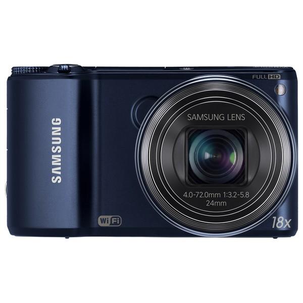 Samsung WB250F Smart 14.2MP Wi-Fi Cobalt Black Digital Camera