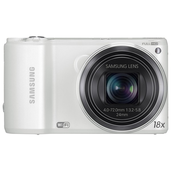 Samsung WB250F 14.2MP White Digital Camera