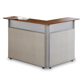 OFM Scratch-Resistant L-Shaped Reception Desk