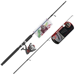 Ready 2 Fish Salmon 8 Inch Spin Combo Kit