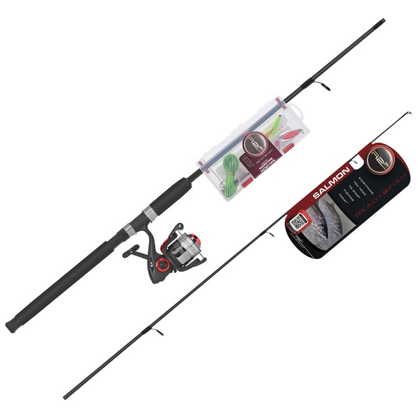Ready 2 Fish Salmon 7 Inch Spin Combo Kit