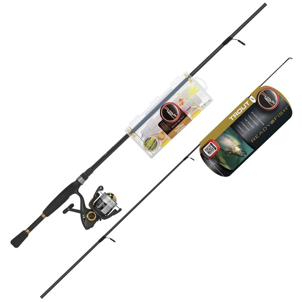 Shop Ready 2 Fish Trout Spin Medium Combo