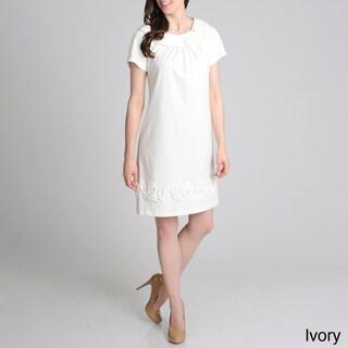 R & M Richards Women's Novelty Shift Dress