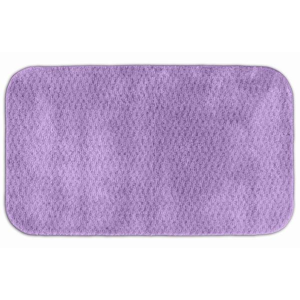 Somette Enliven Purple Amethyst Bath Rug