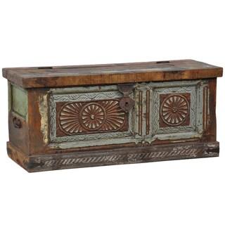 Kosas Home 'Alec' Old Panel Reclaimed Wood Storage Box