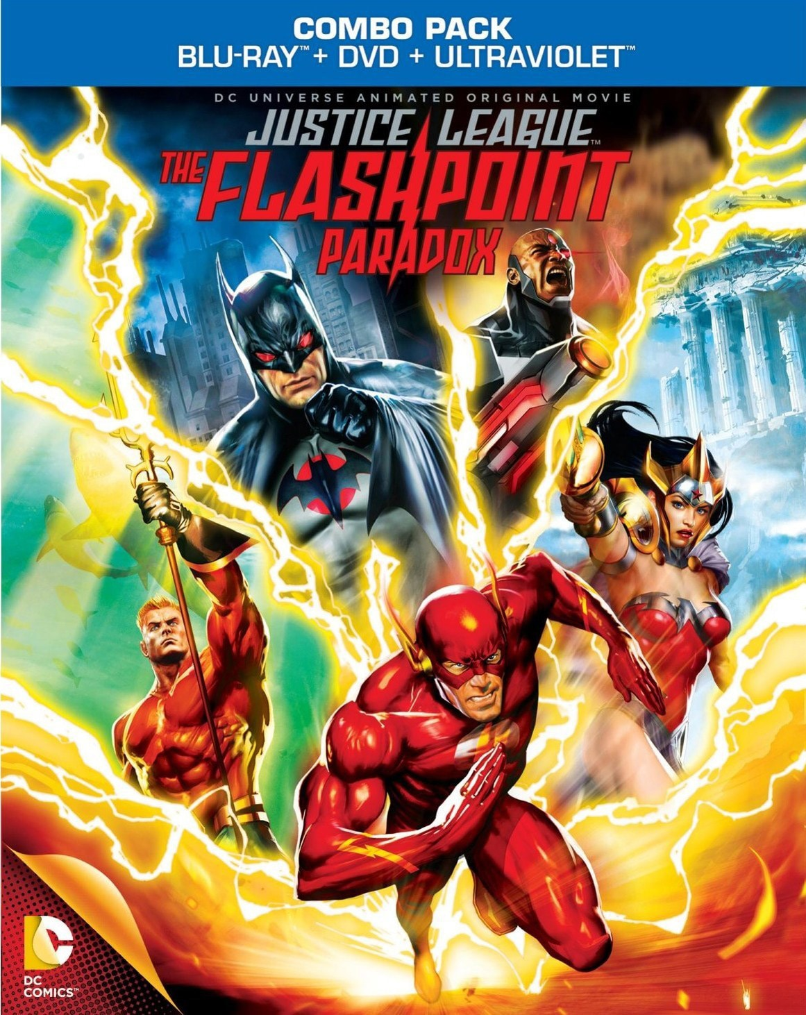 Justice League: The Flashpoint Paradox (Blu-ray Disc)