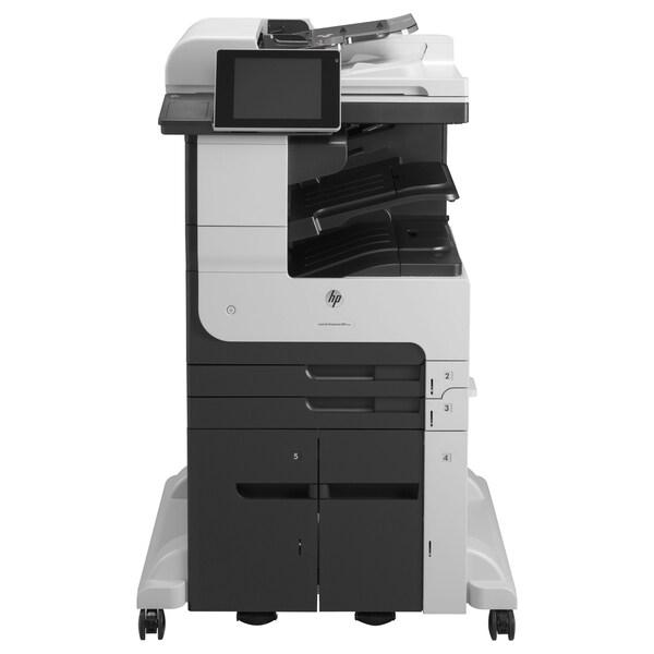 HP LaserJet 700 M725Z+ Laser Multifunction Printer - Monochrome - Pla