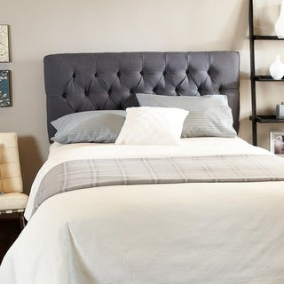 Humble + Haute Halifax Charcoal Diamond Tufted Headboard
