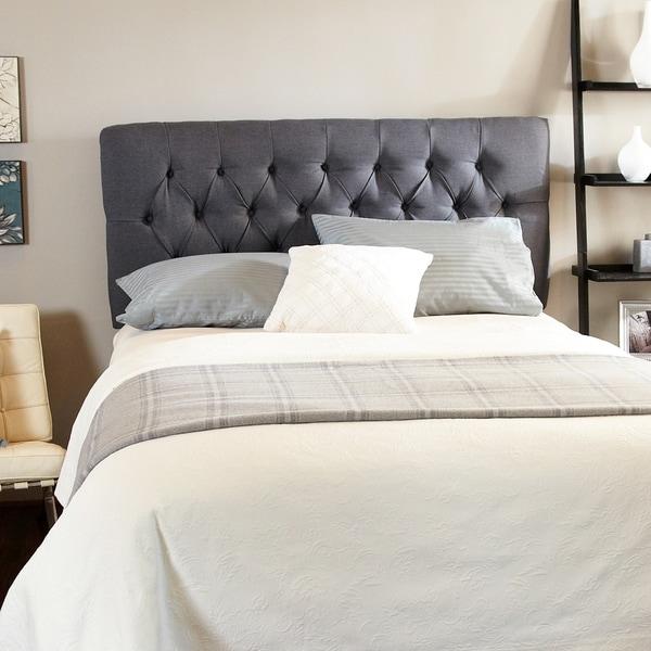 shop humble haute halifax charcoal diamond tufted. Black Bedroom Furniture Sets. Home Design Ideas