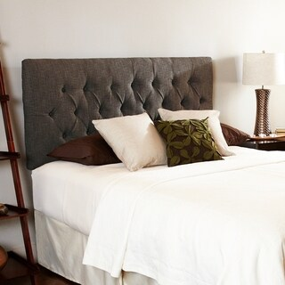 Humble + Haute Halifax Chocolate Queen Diamond Tufted Headboard