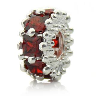 Silverplated Red Crystal 'Glitteratzi' Pacific Bead|https://ak1.ostkcdn.com/images/products/7969067/7969067/Silverplated-Red-Crystal-Glitteratzi-Pacific-Bead-P15339641.jpg?impolicy=medium
