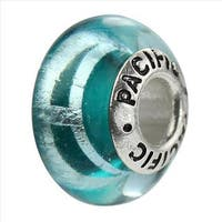 Sterling Silver 'Weekend Vacation' Glass Bead