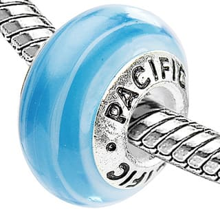 Silver Overlay 'Friends Forever' Murano-style Glass Bead|https://ak1.ostkcdn.com/images/products/7969149/P15339716.jpg?impolicy=medium