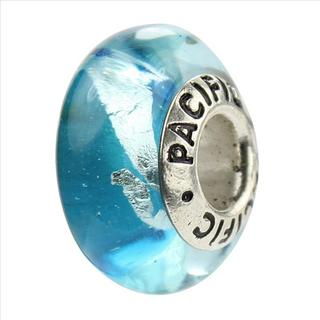 Sterling Silver 'Rockin' the Boat' Glass Bead