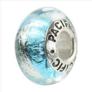 Sterling Silver 'Mesmerize' Glass Bead