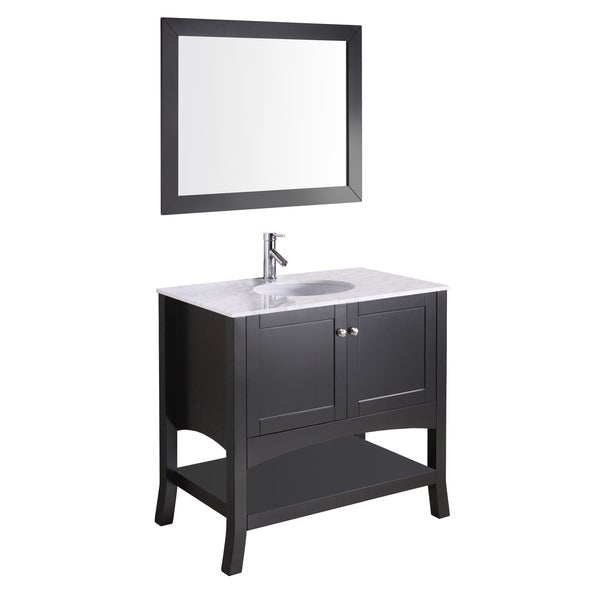 Shop Alley 38-inch Single-sink Vanity Set - Free Shipping ...