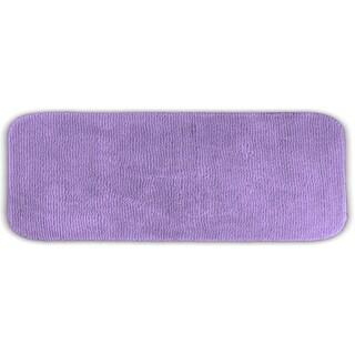Somette Cheltenham Purple Washable Bath Runner