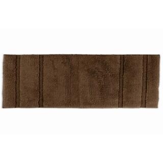 Somette Tranquility Cotton Chocolate 22 x 60 Bath Runner