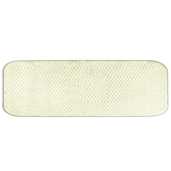 Somette Enliven Textured Ivory 22 x 60 Bath Runner