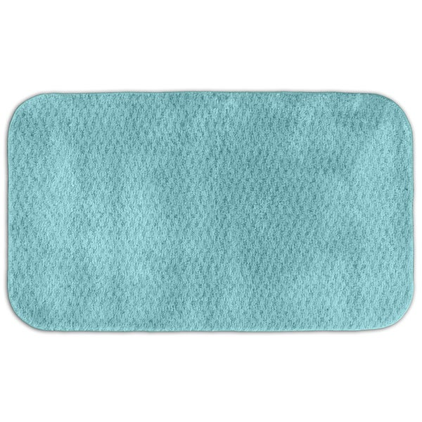 Somette Enliven Textured Sea Foam Bath Rug (30 x 50)