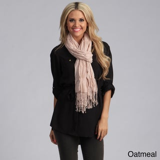 Link to Saro Women's Woven Ruffled Scarf with Fringes Similar Items in Scarves & Wraps