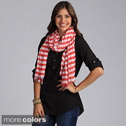Saro Women's Striped Scarf