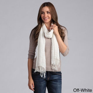 Link to Saro Women's Woven Scarf with Fringes Similar Items in Scarves & Wraps