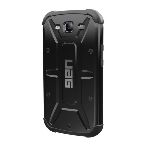 Urban Armor Gear Case for Samsung Galaxy S3 w/ Screen Protector - Black