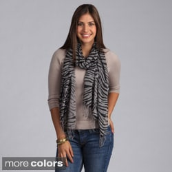 Saro Women's Animal Print Scarf