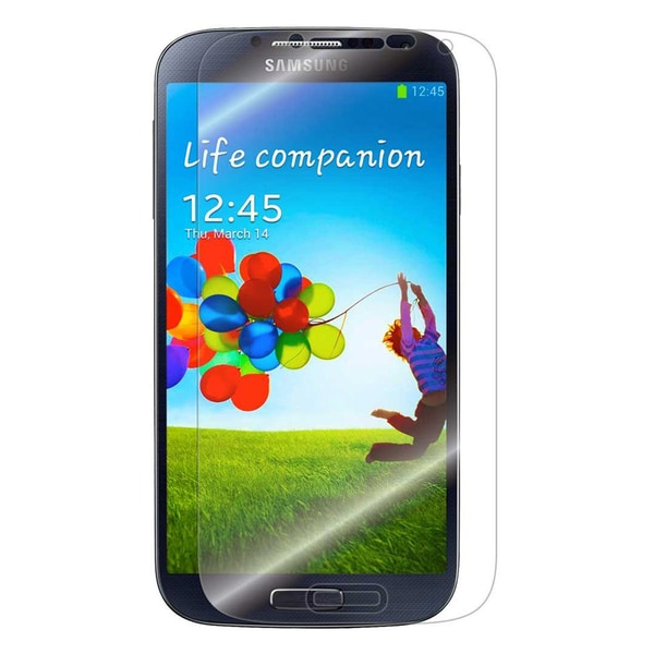 Gearonic Samsung Galaxy S4 Glossy Screen Guard Protector