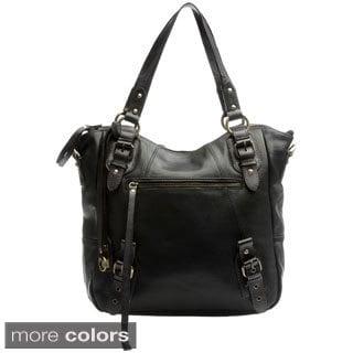Lucky Brand 'Buckman' Leather Tote Bag