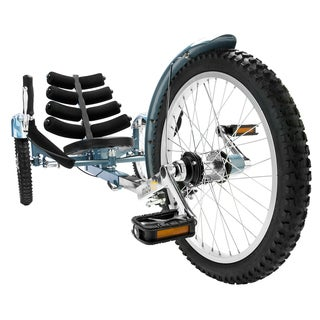 Mobo Shift The Worlds First Reversible Three Wheeled Adult Blue Cruiser