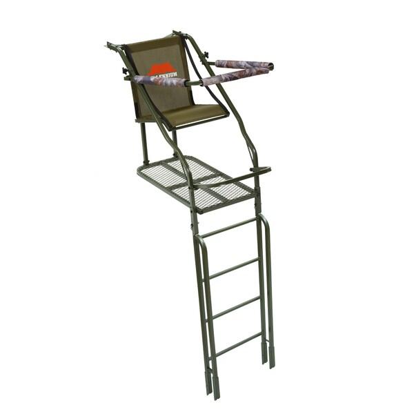 Millennium 21 foot single ladderstand 15340153 overstock com