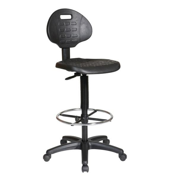 Urethane Armless Standard Drafting Chair