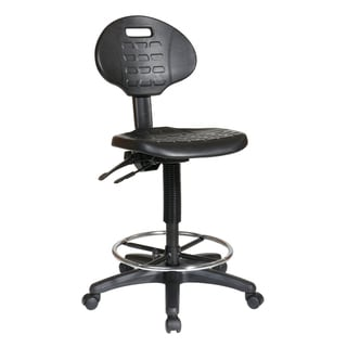 Office Star Products Work Smart Urethane Ergonomic Drafting Chair