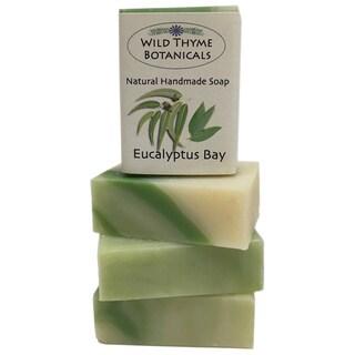 Eucalyptus Bay Natural Handmade 3-bar Soap Trio