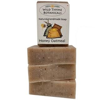 Honey Almond Oatmeal with Goatsmilk Natural Handmade Soap Trio
