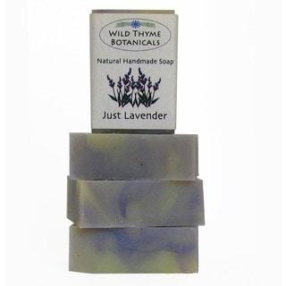 Just Lavender Natural Handmade 3-bar Soap Trio