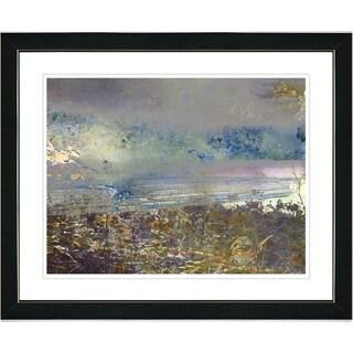 Studio Works Modern 'Sea Shore' Framed Print