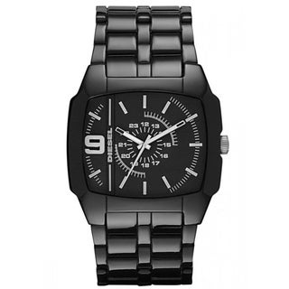 Diesel Men's Black Dial Analog Watch
