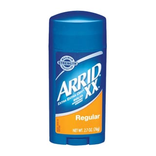 Arrid XX Regular Dry Solid Antiperspirant Deodorant Stick 2.7-ounce (Pack of 8)