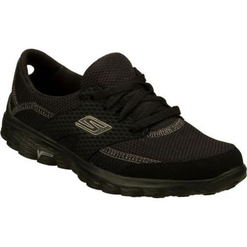 Women's Skechers GOwalk 2 Stance Black - Thumbnail 0