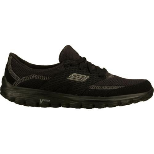 Women's Skechers GOwalk 2 Stance Black - Thumbnail 1